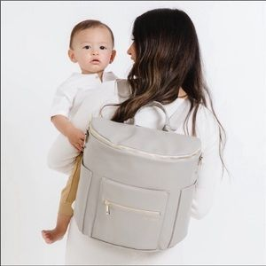 GUC Fawn Design Original Gray baby Diaper Bag